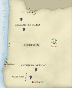 Bandon Dunes Oregon Map.Bandon Dunes Golf Vacation Package Oregon Golf Vacation Package